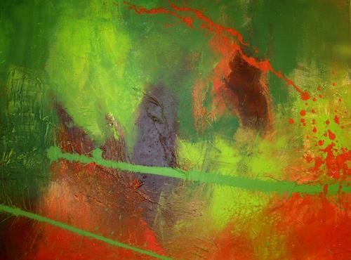 Ingrid Kainz, ot, Abstraktes, Abstraktes, Abstrakte Kunst, Abstrakter Expressionismus