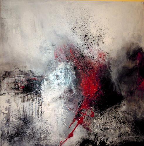 Ingrid Kainz, verwunschen, Abstraktes, Abstraktes, Abstrakte Kunst, Abstrakter Expressionismus