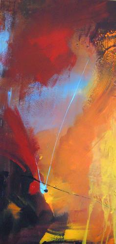 Ingrid Kainz, Sternschnuppe, Abstraktes, Abstraktes, Abstrakte Kunst