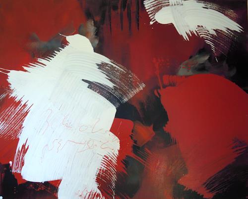 Ingrid Kainz, Hexe 1, Abstraktes, Abstraktes, Abstrakte Kunst