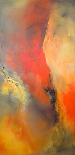 Ingrid Kainz, Am Morgen, Abstraktes, Abstraktes, Abstrakte Kunst, Moderne