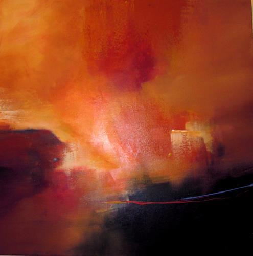 Ingrid Kainz, kleiner Lichtblick, Abstraktes, Abstraktes, Abstrakte Kunst