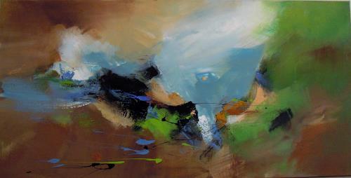 Ingrid Kainz, Hurricane, Abstraktes, Abstraktes, Abstrakte Kunst