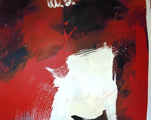 Ingrid Kainz, Hexe 2, Abstraktes, Abstraktes, Abstrakte Kunst