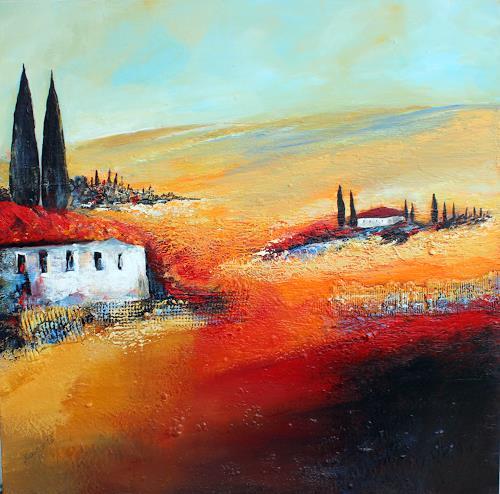 Ingrid Kainz, Heimat, Diverse Landschaften, Abstraktes