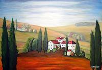 Caecilia-Schlapper-Landschaft-Huegel-Moderne-Fotorealismus