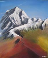 Caecilia-Schlapper-Landschaft-Berge-Neuzeit-Realismus