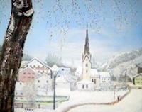 Caecilia-Schlapper-Landschaft-Winter-Moderne-Fotorealismus