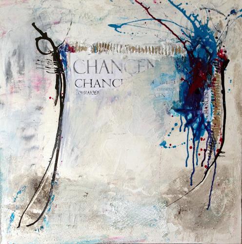 Cäcilia Schlapper, Chancen II, Abstraktes, Abstrakte Kunst