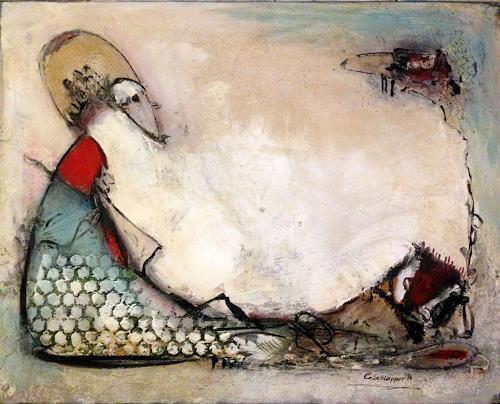 Cäcilia Schlapper, take a break, Abstraktes, Informel, Expressionismus