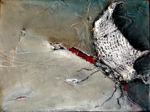 Cäcilia Schlapper, Landeanflug, Abstraktes, Informel, Expressionismus