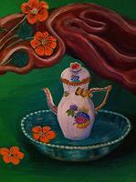 Agnes-Varsanyi-Dekoratives-Stilleben-Moderne-Art-Deco