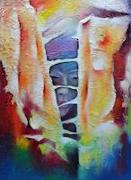 Lydia-Harmata-Menschen-Gesichter-Abstraktes-Moderne-Abstrakte-Kunst