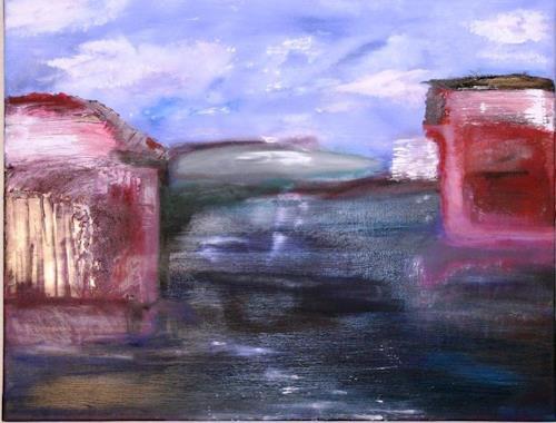 Eri-Art, my blue phase 3, Abstraktes, Fantasie, Abstrakte Kunst