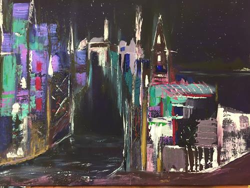 Eri-Art, Nachts, Diverse Landschaften
