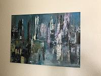 Eri-Art-Fantasie-Abstraktes-Gegenwartskunst-Land-Art