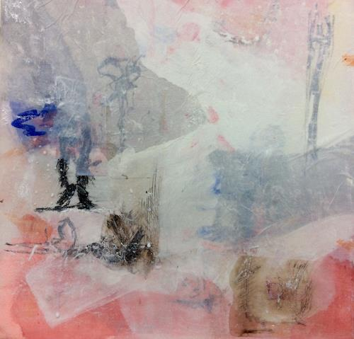 Eri-Art, Winter 1, Abstraktes, Landschaft, Abstrakte Kunst