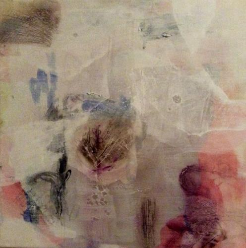 Eri-Art, Winter 2, Abstraktes, Landschaft: Winter, Action Painting, Abstrakter Expressionismus