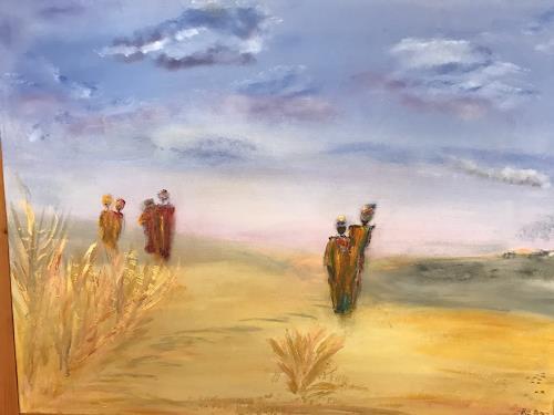Eri-Art, O/T, Landschaft, Menschen, Land-Art