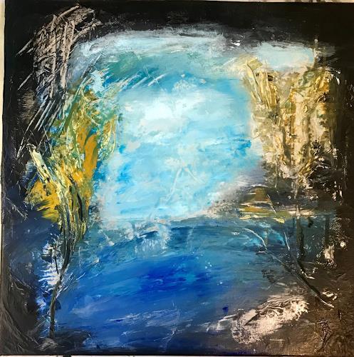 Eri-Art, O/T, Landschaft, Fantasie, Land-Art