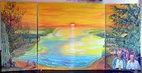 Frank-Ziese-Poesie-Landschaft-See-Meer-Moderne-Impressionismus