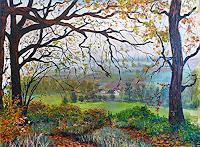 Frank-Ziese-Pflanzen-Baeume-Natur-Wald-Moderne-Impressionismus