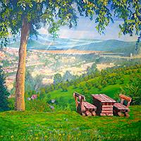 Frank-Ziese-Landschaft-Huegel-Natur-Wald-Gegenwartskunst-Gegenwartskunst