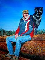 Frank-Ziese-Menschen-Portraet-Natur-Wald-Neuzeit-Realismus