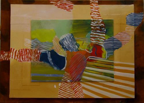 Sebastian Burckhardt, Fly, Abstraktes, Poesie, New Image Painting