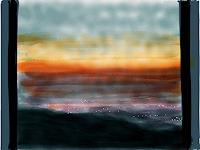 S. Burckhardt, Sonnenuntergang 1