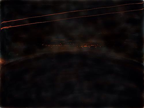 Sebastian Burckhardt, Nacht 2, Diverses, Diverse Landschaften, New Image Painting