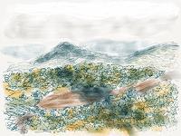 Sebastian-Burckhardt-Landschaft-Huegel-Diverse-Landschaften-Gegenwartskunst-New-Image-Painting