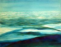 Sebastian-Burckhardt-Landschaft-See-Meer-Diverses-Gegenwartskunst-Gegenwartskunst