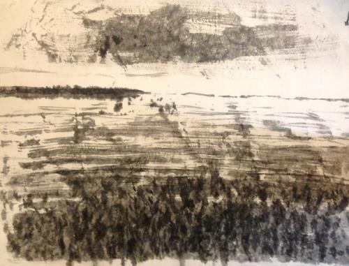 Sebastian Burckhardt, Norköpping Fjord Dänemark 1, Landschaft: See/Meer, Diverses, Pluralismus