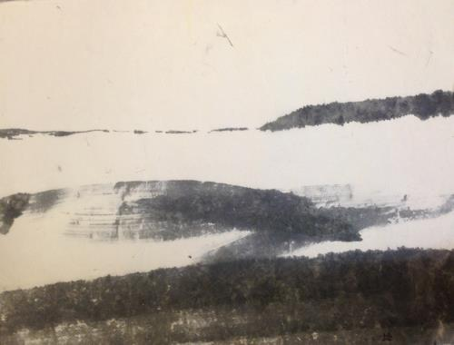 Sebastian Burckhardt, Norköpping Fjord 3, Landschaft: See/Meer, Diverses, New Image Painting
