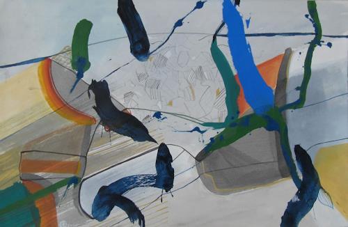 Sebastian Burckhardt, Seals, Diverses, Abstraktes, Gegenwartskunst