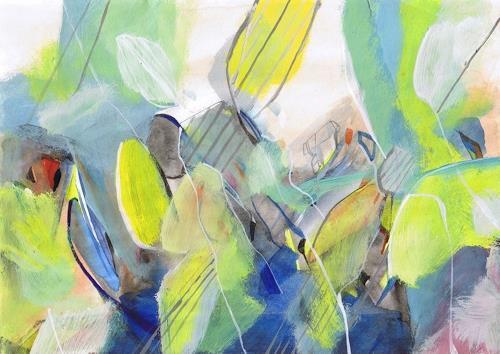 Sebastian Burckhardt, Sommer, Diverses, Abstraktes, Gegenwartskunst