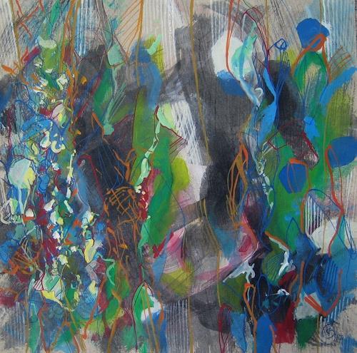 Sebastian Burckhardt, Fauna1, Diverses, Abstraktes, Gegenwartskunst