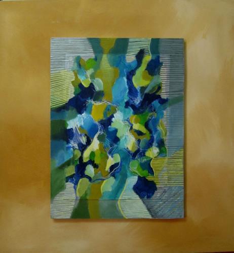 Sebastian Burckhardt, Creek, Diverses, Abstraktes, Gegenwartskunst