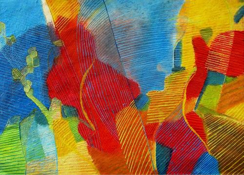 Sebastian Burckhardt, Sun at the Beach, Diverses, Abstraktes, Gegenwartskunst