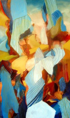 Sebastian Burckhardt, Rising, Diverses, Abstraktes, Gegenwartskunst