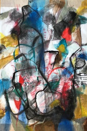 Sebastian Burckhardt, Treffen, Fantasie, Fantasie, Abstrakte Kunst