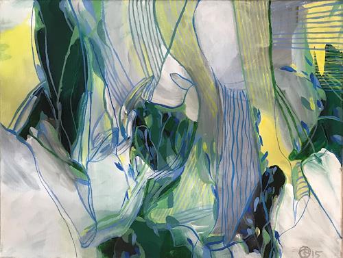 Sebastian Burckhardt, Die Gärten Judeas, Geschichte, Gegenwartskunst, Abstrakter Expressionismus