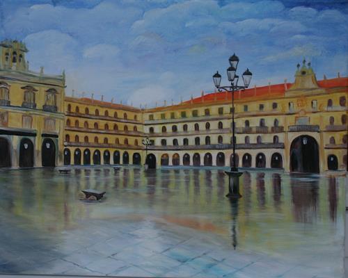Anett Struensee, Spanien, Architektur, Diverse Bauten, Fotorealismus