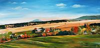 Anett-Struensee-Landschaft-Herbst-Pflanzen-Baeume-Moderne-Naturalismus