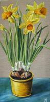 Anett-Struensee-Pflanzen-Blumen-Dekoratives-Moderne-Naturalismus