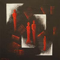 Meltem-Gioli-Menschen-Familie-Moderne-Abstrakte-Kunst