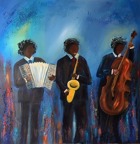 Meltem Gioli, JAZZ, Musik: Musiker, Abstrakte Kunst