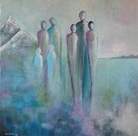 Meltem-Gioli-Menschen-Familie-Moderne-Expressionismus-Abstrakter-Expressionismus