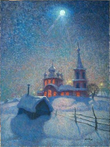 Evgeniy Shibanov, Night Service, Abstraktes